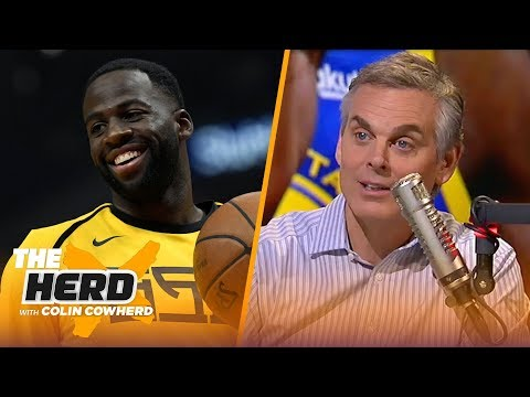 Colin Cowherd on Draymond's future with Golden State, Fultz's role in Philly   NBA   THE HERD