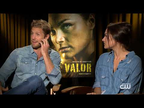 "Interview with the cast of the New CW show ""Valor"""