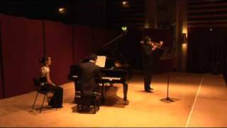 Trombone Recital - Part 1 Cavatine by Saint Saens