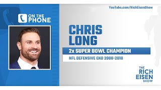 Chris Long Talks Brady to Bucs, Cam, Jameis, Bears & More with Rich Eisen | Full Interview | 4/3/20
