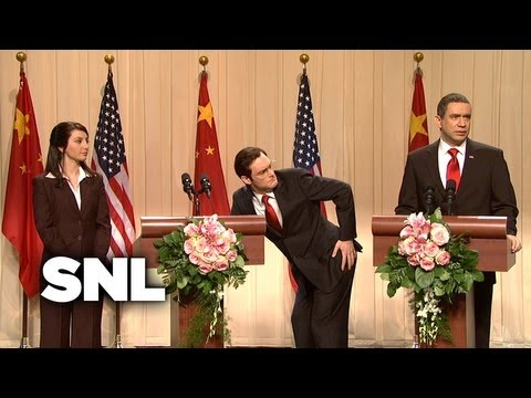 China Debt Cold Opening - Saturday Night Live