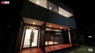 神戸での新築一戸建住宅の設計施工例です。 施主様は、Re:BORN cube の...
