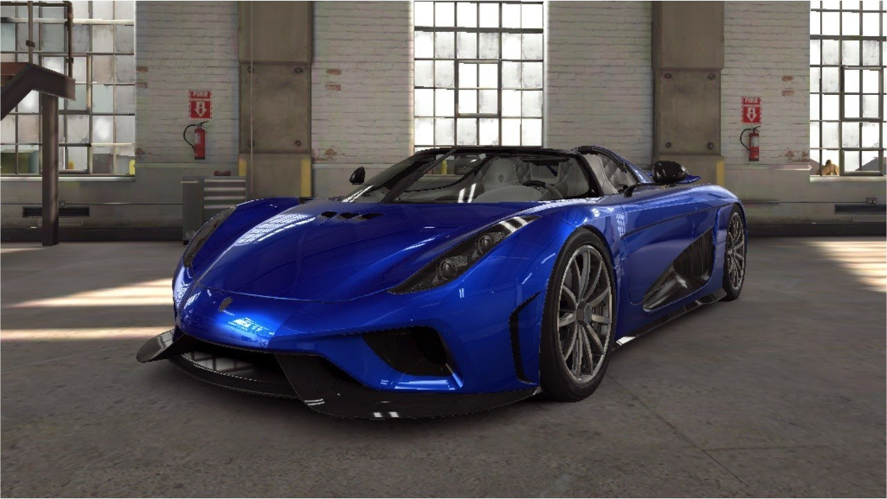 blue koenigsegg regera from a sliver crate showcase csr racing 2 youtube. Black Bedroom Furniture Sets. Home Design Ideas