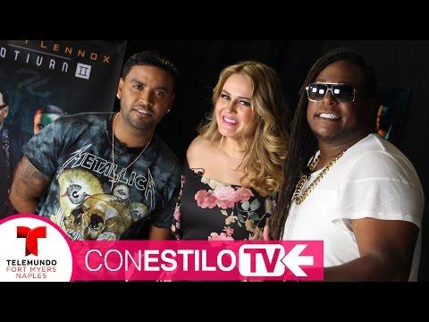 ZION Y LENNOX en Con Estilo TV - Motivan2