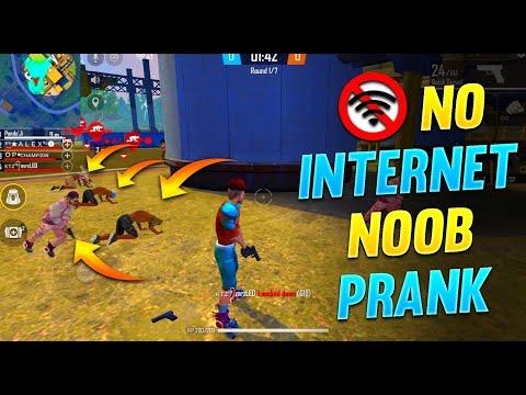 No Internet PRANK || ADAM Challenge In Clash Squad || Free Fire - Desi Gamers