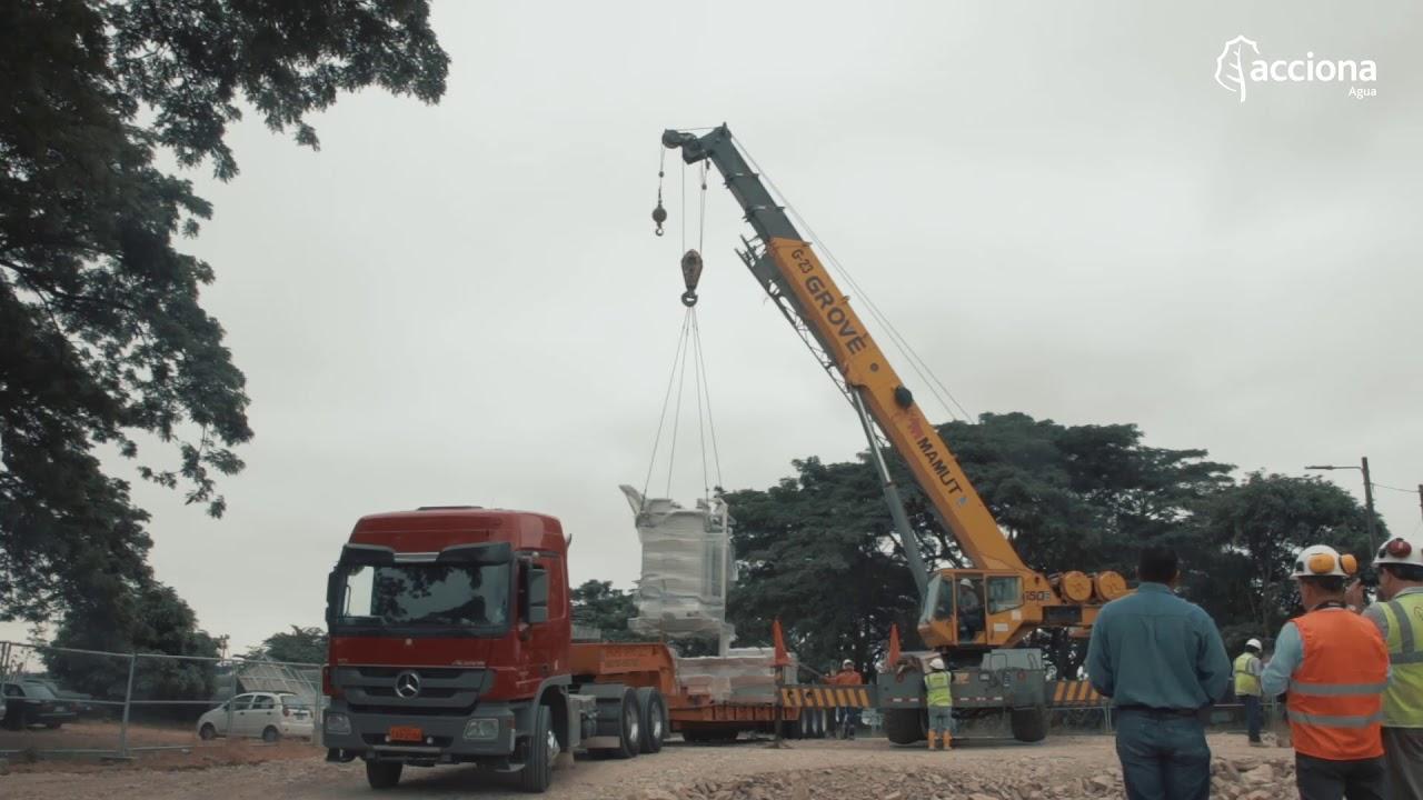 Así avanza la construcción de la estación de bombeo La Pradera de Guayaquil, Ecuador   ACCIONA