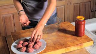 How To Make Spaghetti & Meatballs