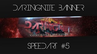 DaringNite YouTube Banner Speedart #5