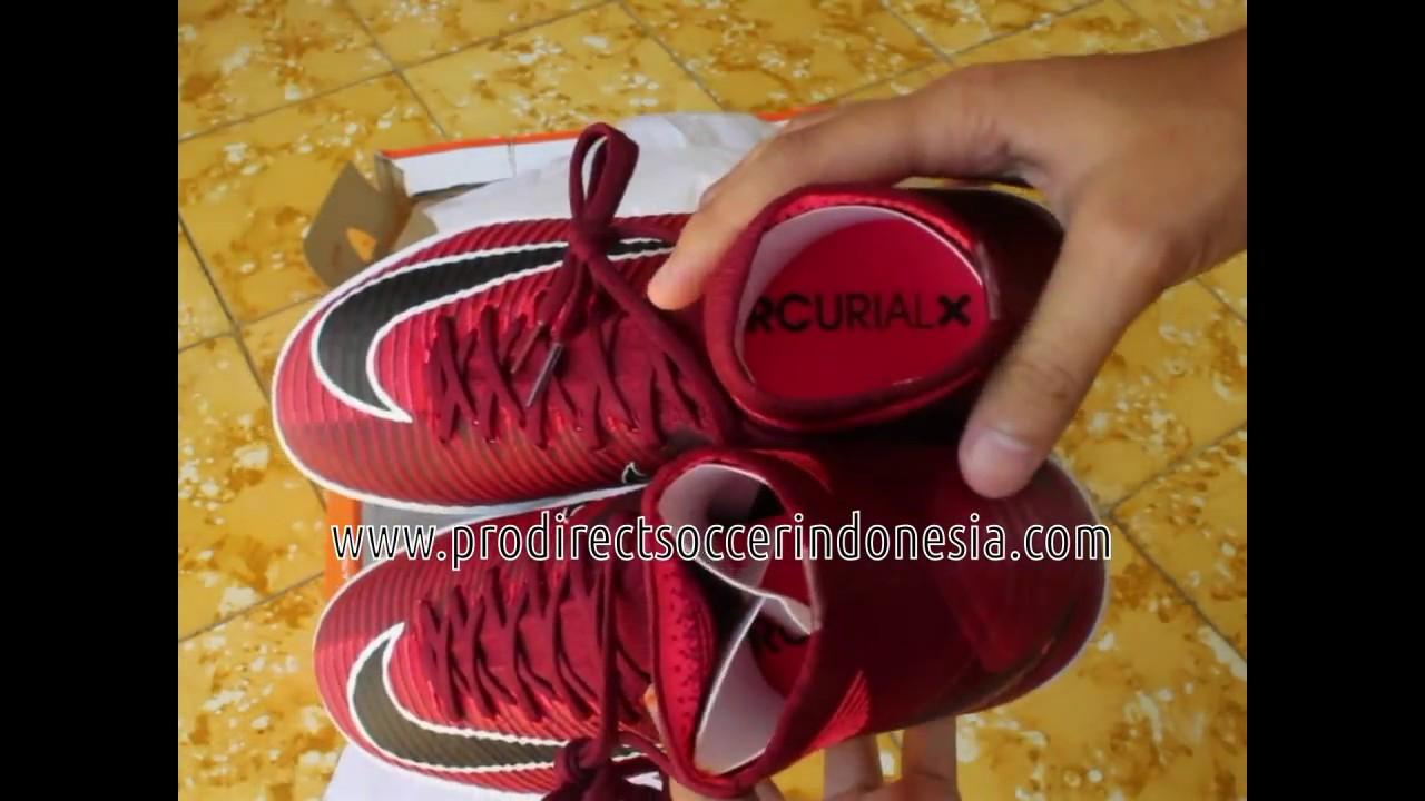 93066d548 Sepatu Futsal Nike MercurialX Proximo II DF IC Team Red Black 831976 ...