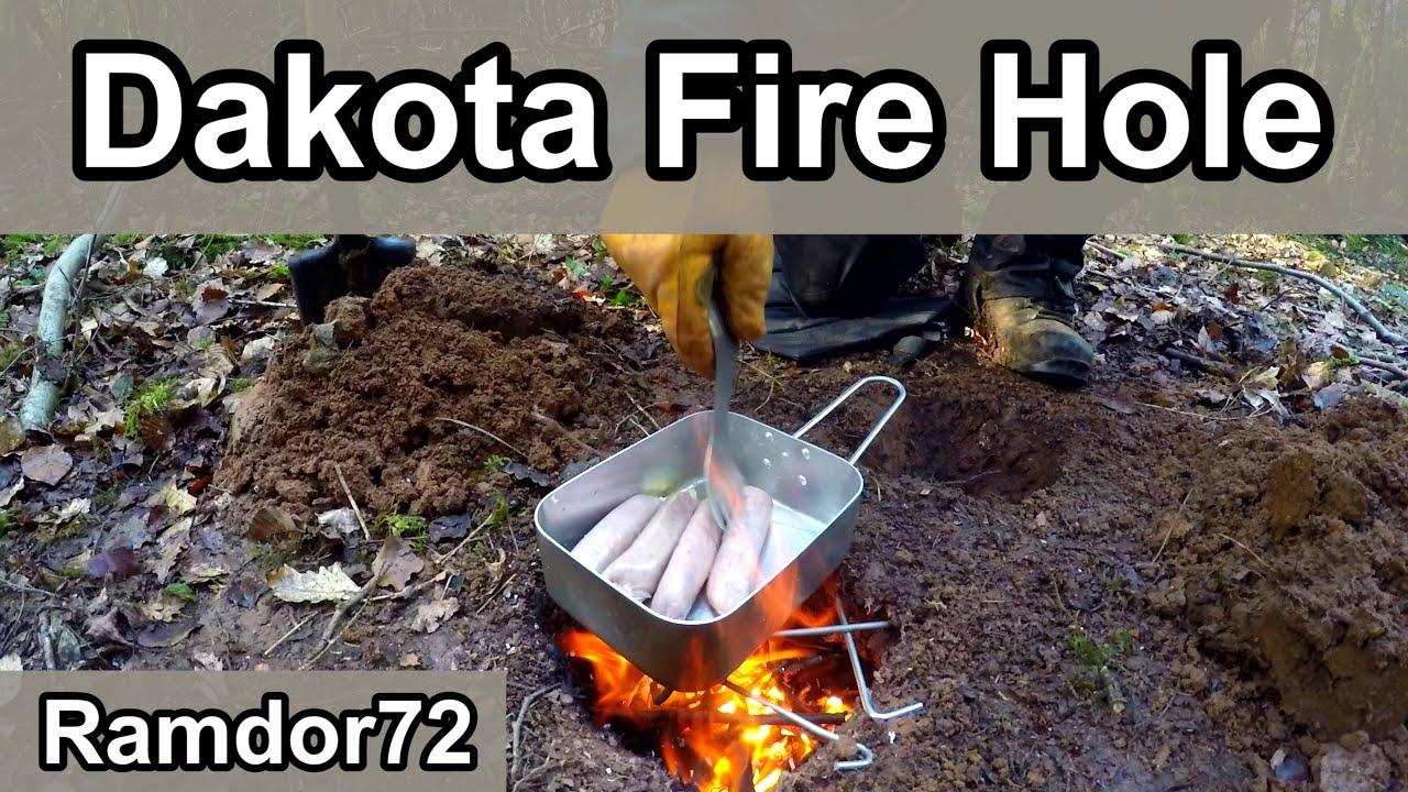 Dakota Fire Hole / Pit - Dakota Fire Hole / Pit - YouTube