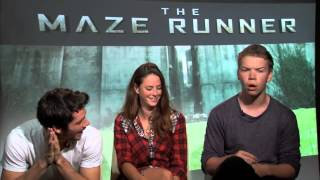 The Maze Runner Cast Funny Moments // PART ONE