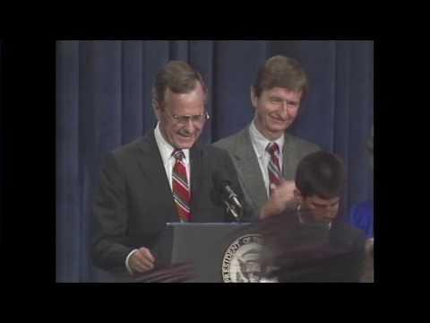 George H. W. Bush 1988 Presidential victory speech [FULL VIDEO]