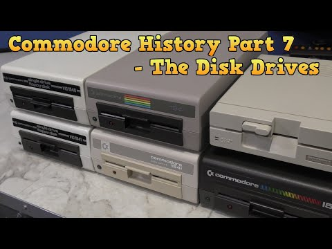 Commodore History Part 7 - Disk Drives