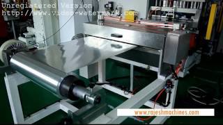 Fully automatic aluminium foil food container making machine