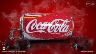 Coca-Cola can Product Packshot commercial.