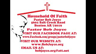 Come Unto Me Preached By Pastor Bob Joyce Jan 27, 2019 at www BobJoyce org