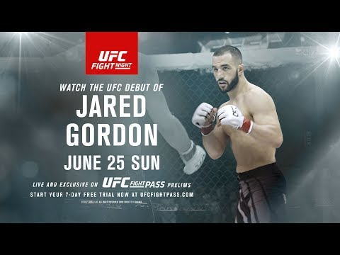 Fight Night Oklahoma City: Jared Gordon Earns UFC Opportunity