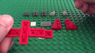 Tutorials: How To Build A Mini Lego Fighter Jet