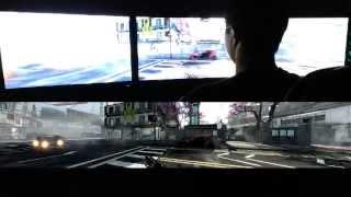 Titanfall Triple Monitor 5760x1080 PC Max Settings Multiplayer Gameplay (Beta)