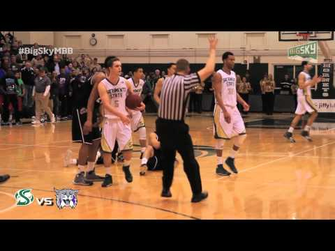 Weber State at Sacramento State Highlights - Big Sky Men