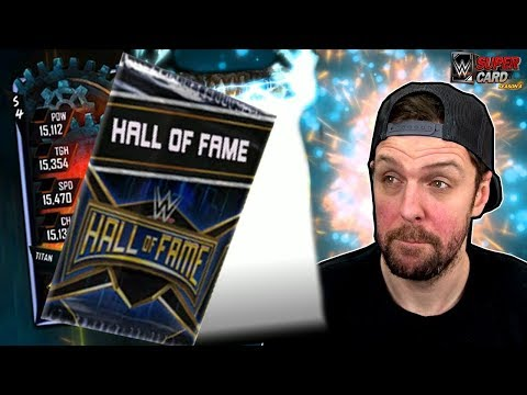 NEW Hall of Fame Packs Opening, Fusion Finished, FREE Cards, & Pro Titan - WWE SuperCard Season 4