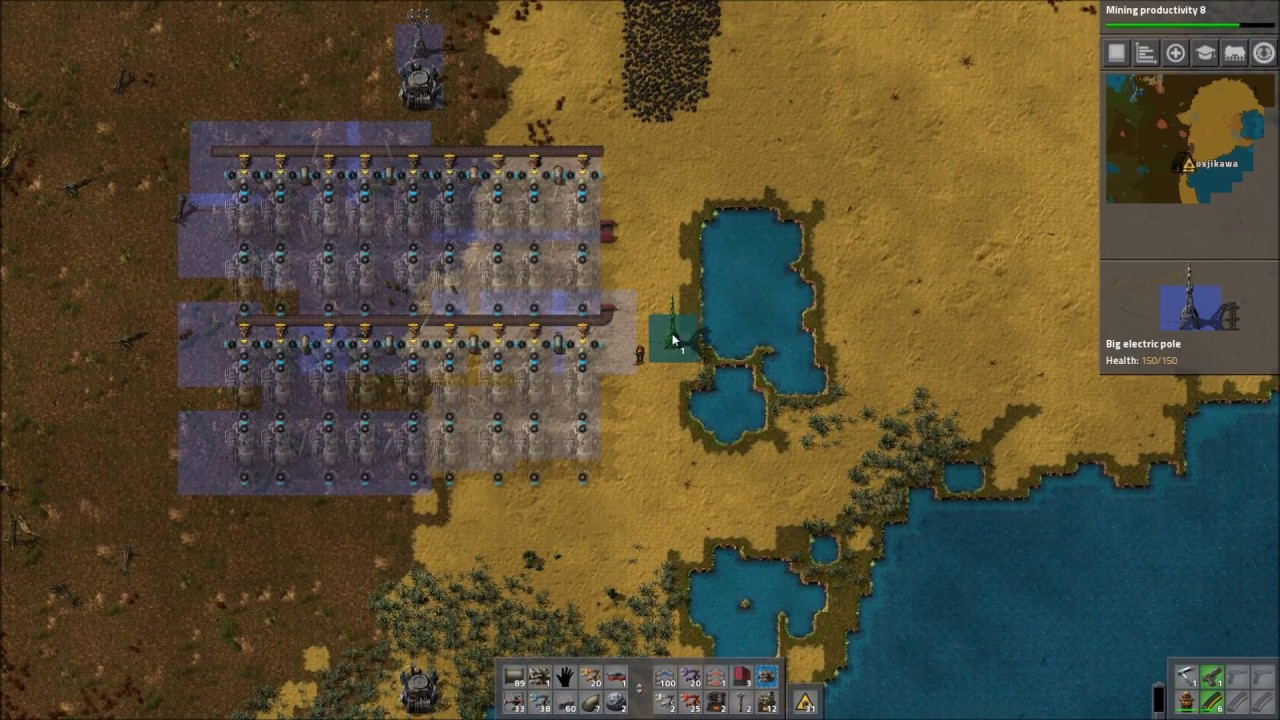 Factorio trying out my first blueprint build by robots youtube factorio trying out my first blueprint build by robots malvernweather Gallery