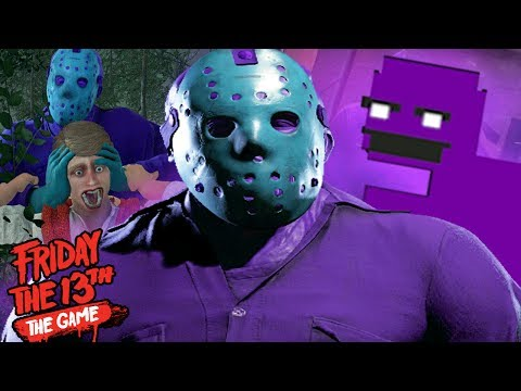 PLAYING AS PURPLE GUY JASON! || Friday The 13th The Game  (RETRO JASON UPDATE)