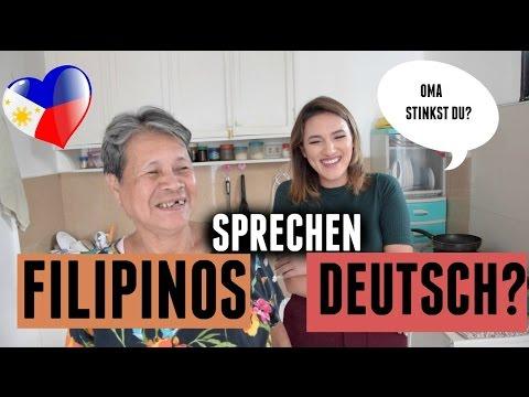 FILIPINOS SPRECHEN DEUTSCH?
