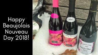 Happy Beaujolais Nouveau Day 2018!