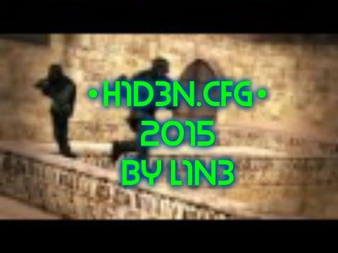 ✔ [CS 1.6] ✔ H1D3N.CFG ✔ 2015 ☆ CFG PURE AIM ☆ V1 ✔