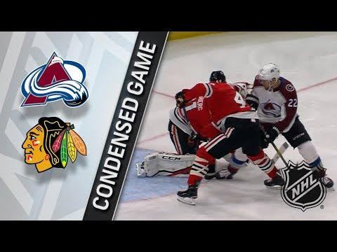 03/20/18 Condensed Game: Avalanche @ Blackhawks