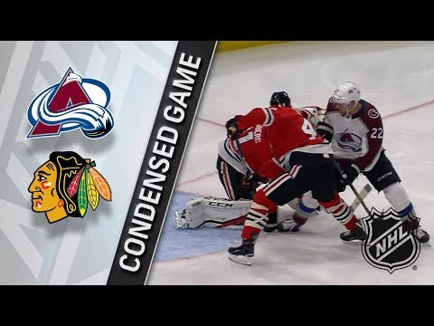 03/20/18 Condensed Game: Avalanche @ Blackhawks
