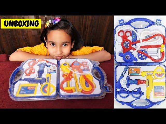 Doctor Set Unboxing / #UNBOXING  #LearnWithPari #Aadyansh