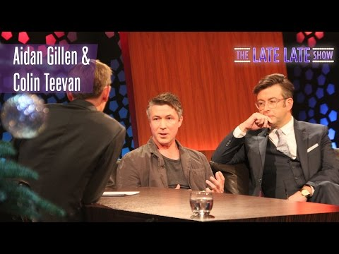 Aidan Gillen and Colin Teevan talk about 'Charlie' | The Late Late Show | RTÉ One