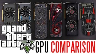 Grand Theft Auto V Ultimate PC Graphics Card Comparison