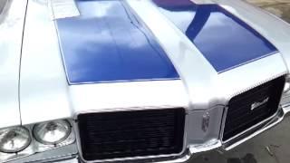 """1971 cutlass on 26"""" irocs"""