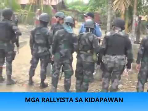 This is the Footage in Kidapawan City Massacre