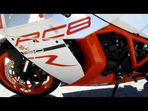 2011 KTM 1190 RC8R JCE Exhaust