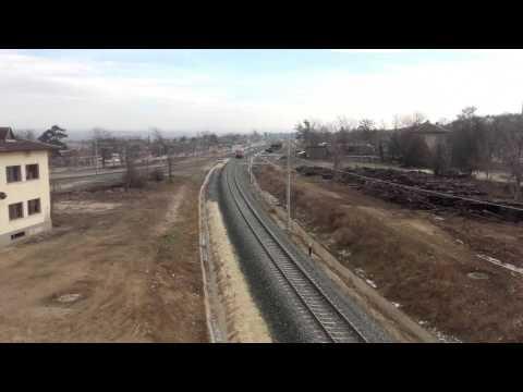 The new railways and trains in Simeonovgrad