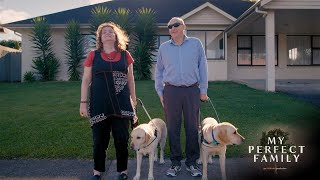 Blind couple prove life is for living (My Perfect Family: Martine Abel-Williamson