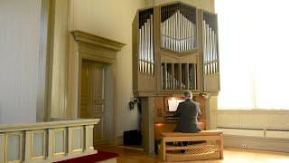Nicolas de Grigny. Récit de Tierce en taille på kororgeln i Björna kyrka.