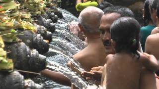 The sacred waters of Bali