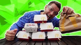 7 Wege um einen BIG MAC von MC DONALDS zu ZERSTÖREN!
