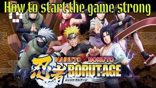 Naruto X Boruto Ninja Voltage: How to start off strong guide #YTLuck