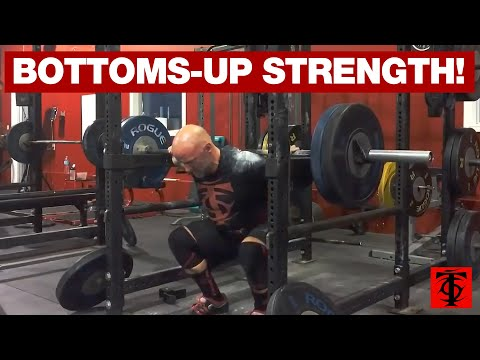 Anderson Squats (Bottom-Up Squats)