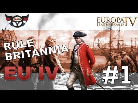 Let's play EU4 Rule Britannia - ep [1]