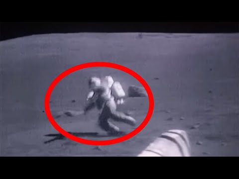 Dark Footage - Astronauts Falling on the Moon