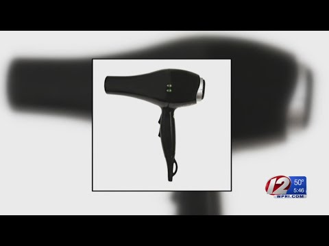 Recall roundup: Injury risks prompt recalls of hair dryers, West Elm tables