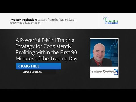 A Powerful E-Mini Trading Strategy for Consistently Profiting | Craig Hill