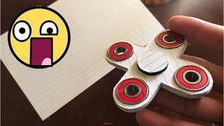 TOP 5 Fidget Spinner HECHOS EN CASA, LOS MEJORES FIDGET SPINNER (Caseros)